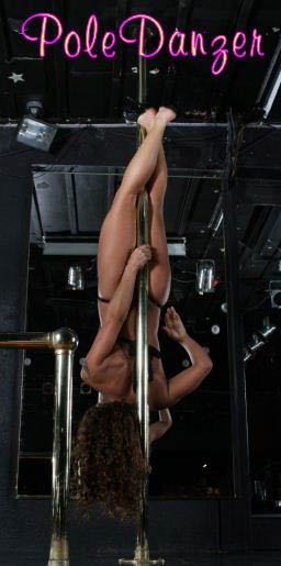 spinning dance pole